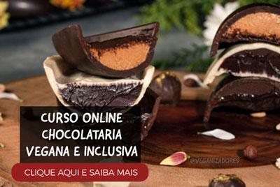 Curso OvoCurso Ovos de Páscoa e Chocolates Veganos Chocolataria Veganas de Páscoa Veganos Chocolataria Vegana