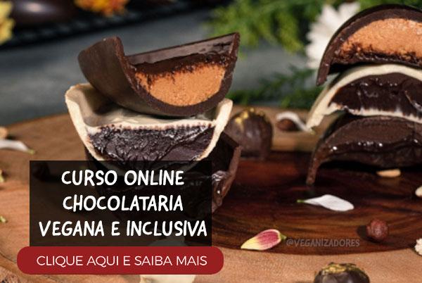 Curso Ovos de Páscoa Veganos Chocolataria Vegana