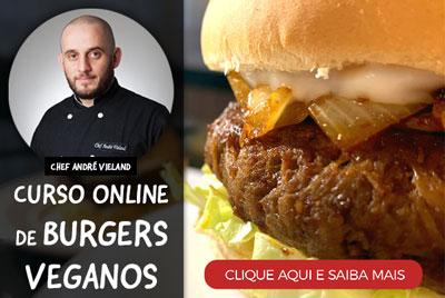Curso de Hambúrgueres Veganos by Chef André Vieland