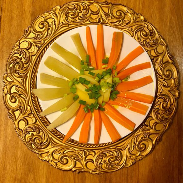 Salada de Legumes - Receita Vegana