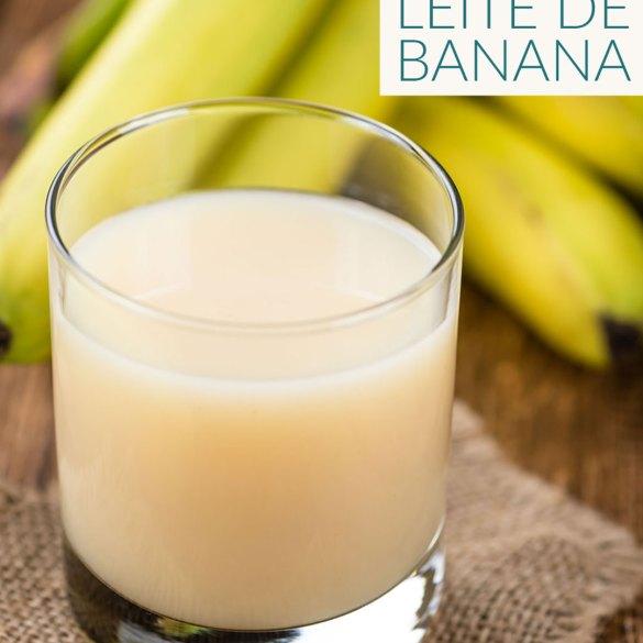 Leite de Banana Receita Vegana Veganizadores
