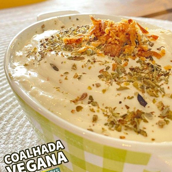 Coalhada Vegana - Receita Árabe - Veganizadores