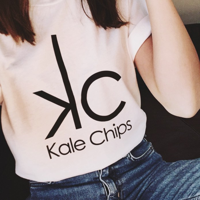 Kale 'em with kindness in the Kale Chips Shirt!