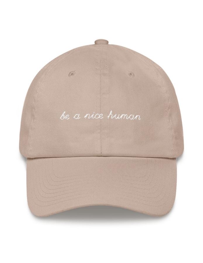 be-a-nice-human-hat-veganized-world