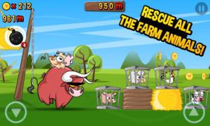 run cow run vegán applikáció