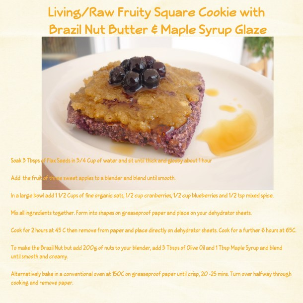 Living Fruits Square Cookies