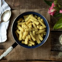 Vegan Mac 'n' cheese oder auch einfach Nudeln mit Käse-Sahne-Sauce