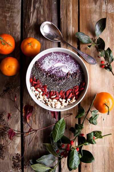 Acaibowl acas smoothie bowl rezept vegan