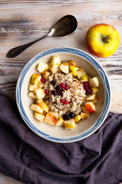 oatmeal vegan postworkout