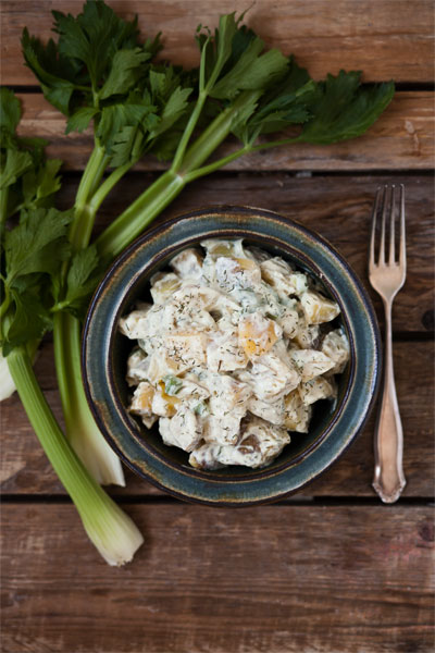 sommerlicher Kartoffelsalat vegan