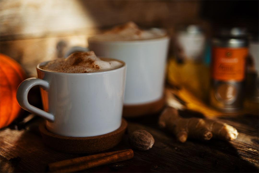 Pumpkin Spice Latte und Pumpkin Spice Kakao (vegan) - Vegan Mom