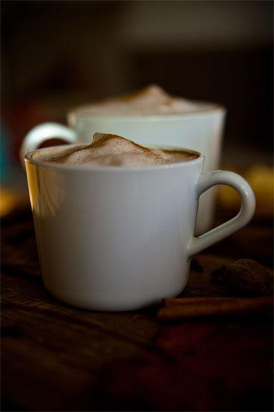 vegane pumpkin spice latte 2