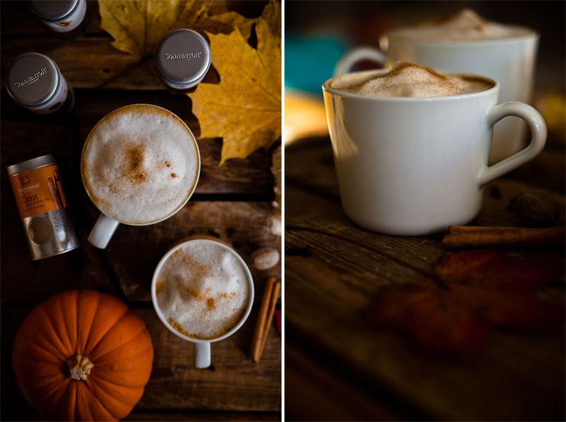 vegane pumpkin spice latte Rezept veganmom