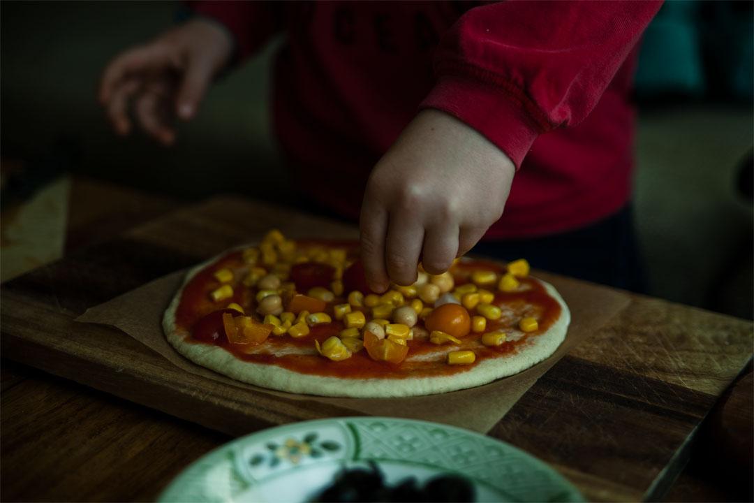 vegane pizza rezept