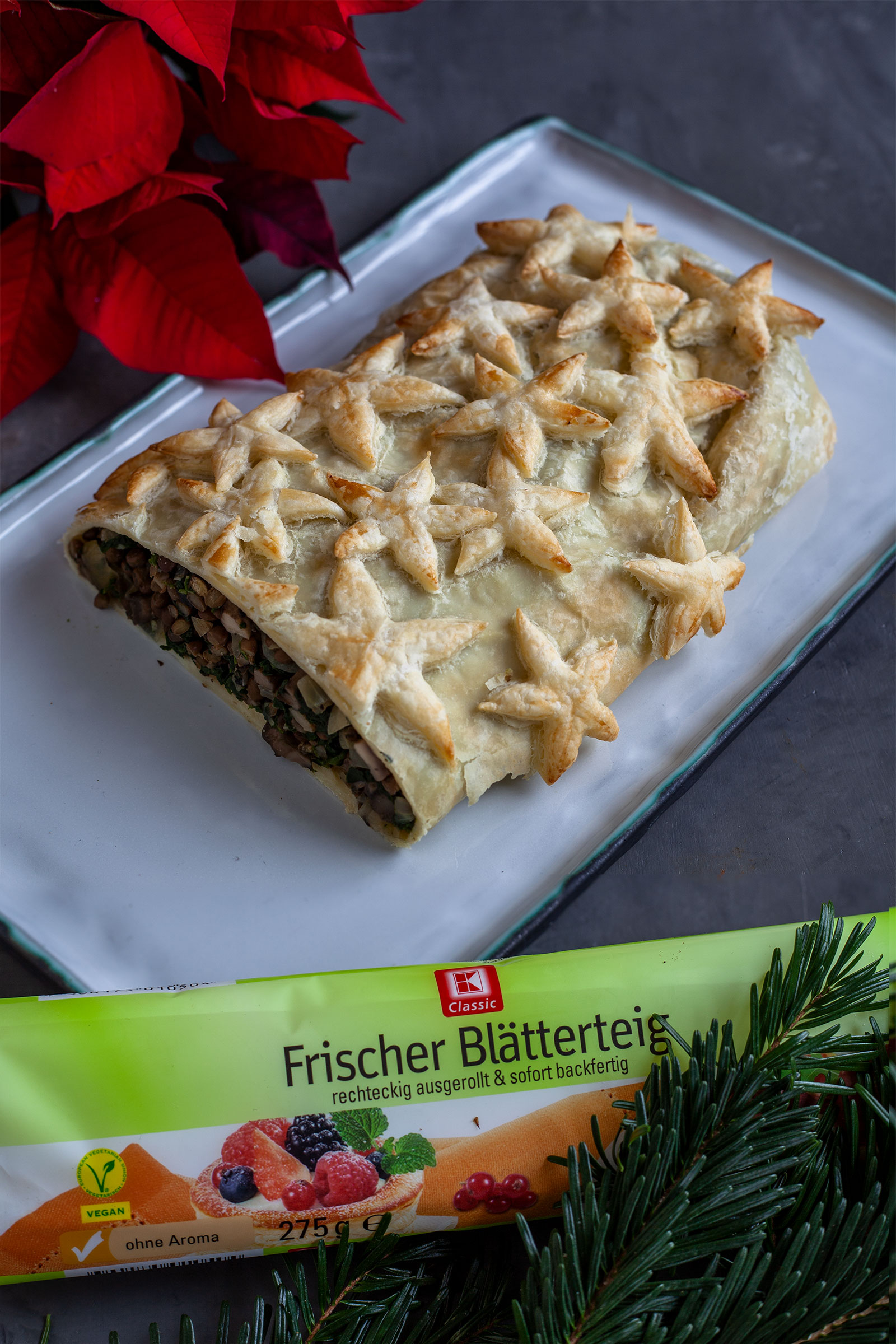 vegan Wellington Rezept