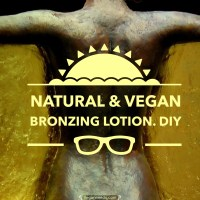 Natural & Vegan Bronzing Lotion ~ DIY
