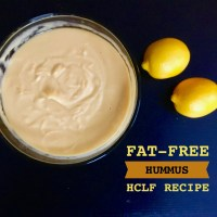 Fat-Free Hummus ~ HCLF Recipe
