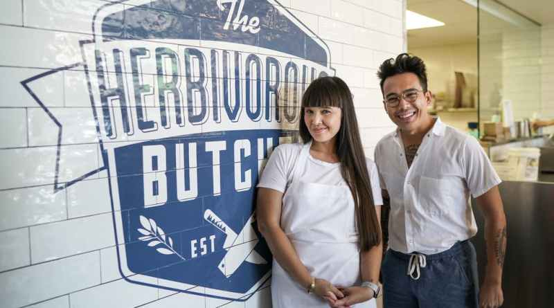 Herbivorous Vegan Butcher kale and aubry walch