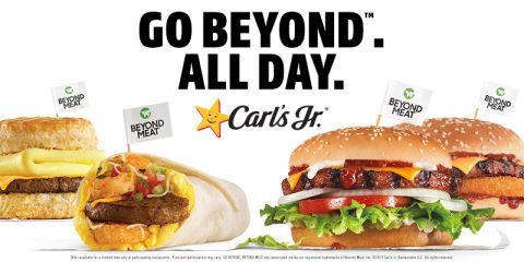 Carl's Jr. and Hardee's now has Beyond Meat for breakfast, lunch, and dinner