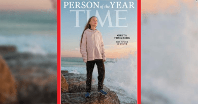 Greta Thunberg is Time magazines person of the year