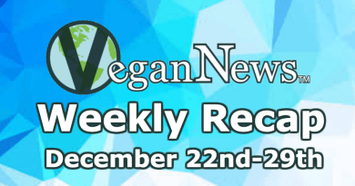 A list of all the Vegan News stories that mattered in veganism this week December 22nd to the 29thl
