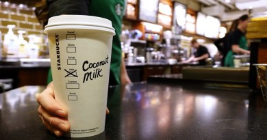 Starbucks is going dairy free for the environment