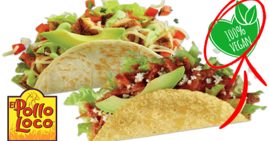 El Pollo Loco vegan options have expanded to include a new Chickenless Pollo plant-based vegan meat option at 485 locations.