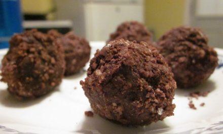 Mochi Truffles (Riceflour Truffles)