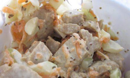 Vegan Chicken (Seitan) Salad