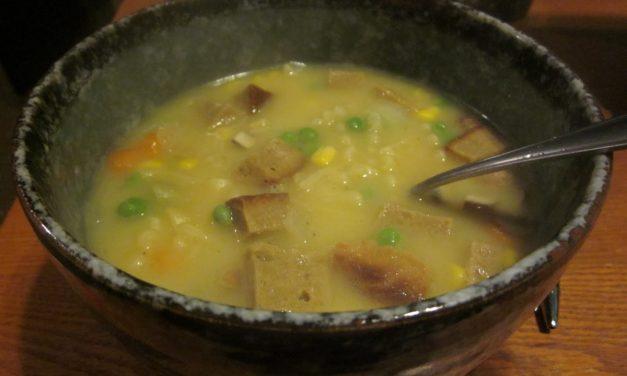 Nom Nom's Vegan Chicken Noodle Soup