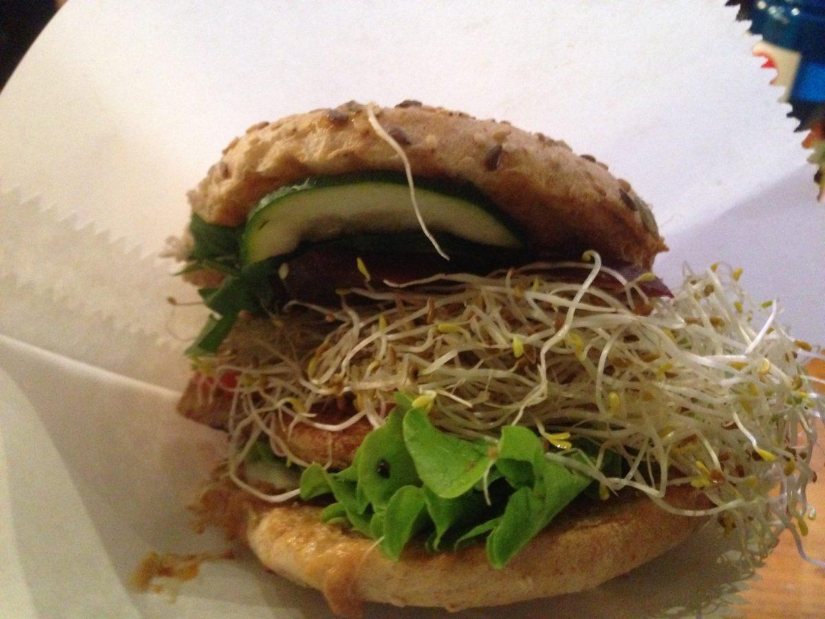 Street Food Thursday Vegan Tofu Burger Markthalle IX