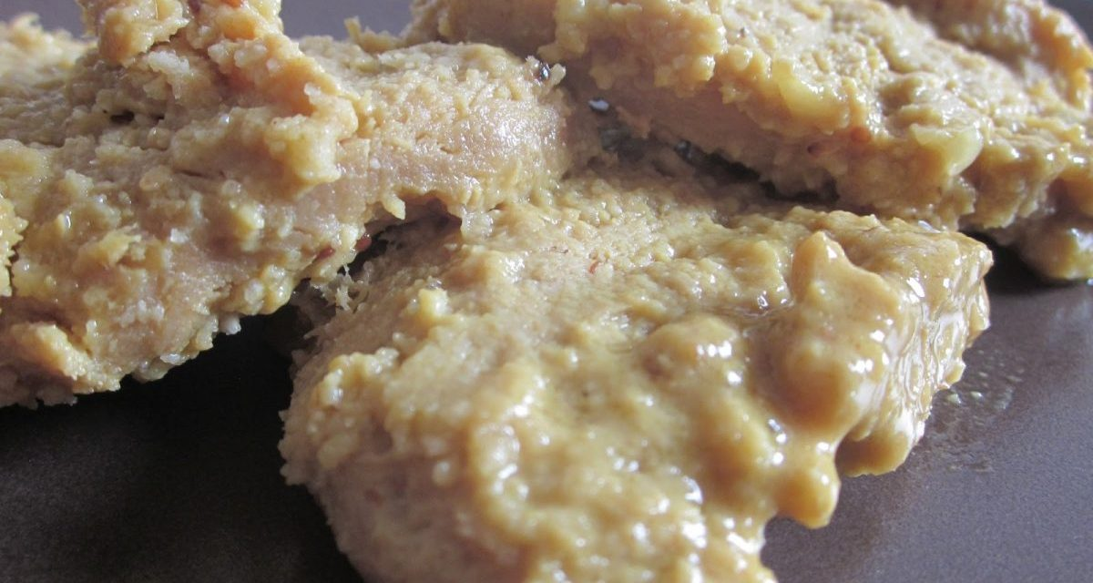 Mustard Marinated Textured Vegetable Protein (TVP) Cutlets