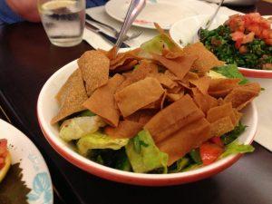 Leila Dubai Fattoush Salad | Vegan Nom Noms
