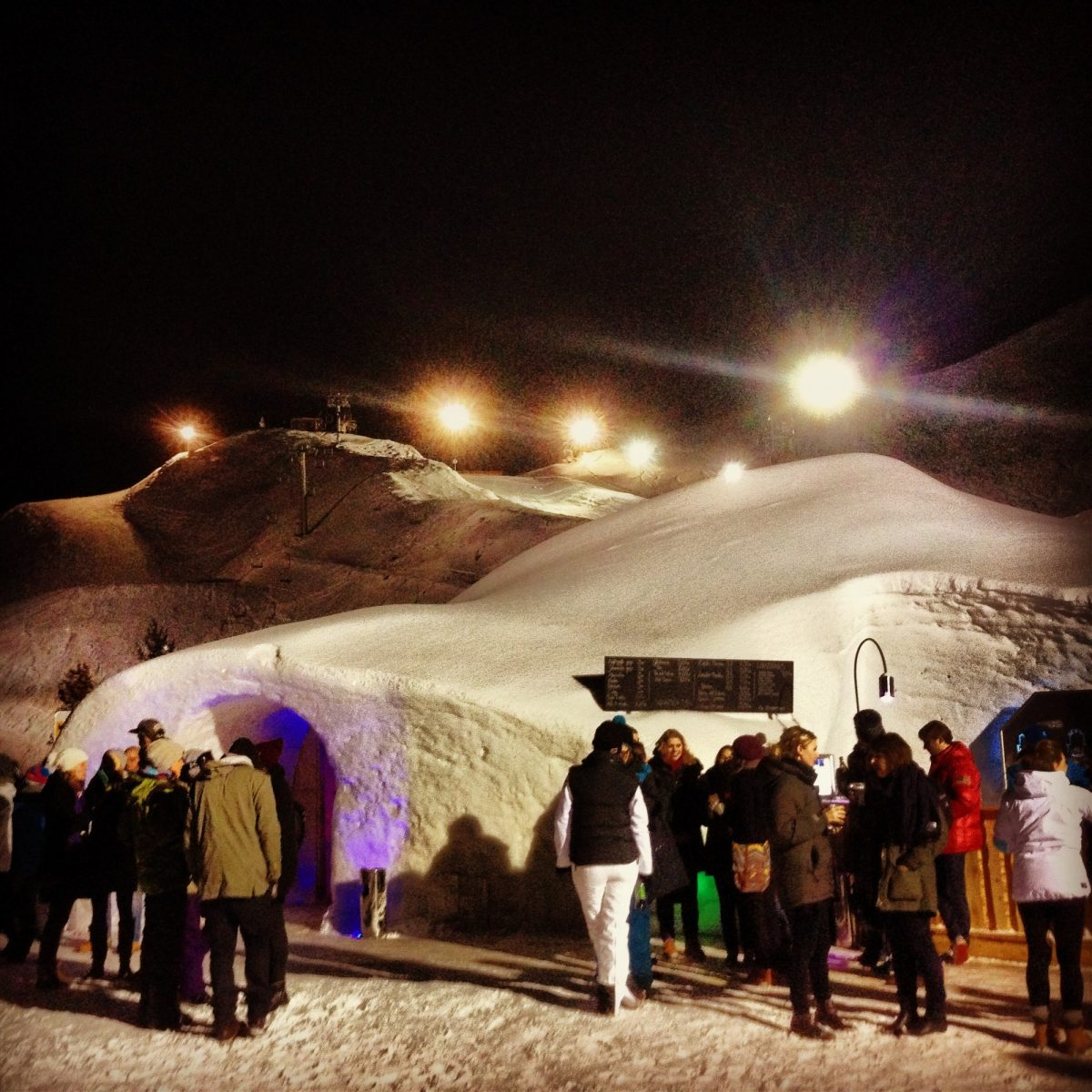 Party in an Igloo Alps Austria