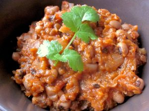 Gluten-free Stew with Black-Eyed Peas