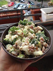 Raw Broccoli Salad | Vegan Nom Noms