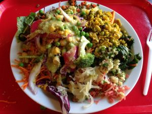People's Co-op Ann Arbor Salad Bar | Vegan Nom Noms