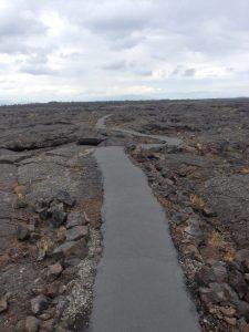 Craters of the Moon Park Idaho Path | Vegan Nom Noms