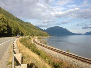Alaska Roadside Scenery | Vegan Nom Noms