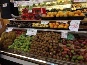 Berkeley Bowl Produce Section   vegan Nom Noms