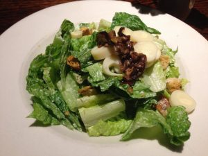 Cafe Sunflower Atlanta Caesar Salad| Vegan Nom Noms