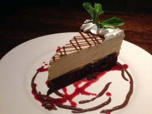 Cafe Sunflower Atlanta Peanut Butter Mousse Cake | Vegan Nom Noms