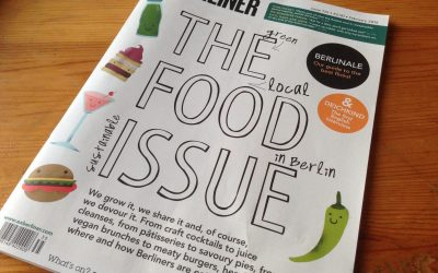 Vegan Nom Noms in Exberliner Magazine!