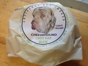 Cheezehound Grey Day Blue Packaging - Vegan Nom Noms