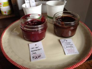 Dr Cow Raw Raspberry Jam and Hazelnut Chocolate Spread - Vegan Nom Noms