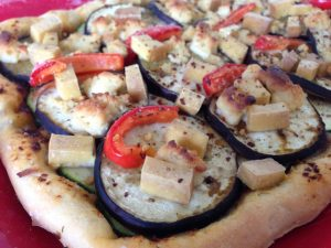 Bonativo Tofu Pizza - Vegan Nom Noms