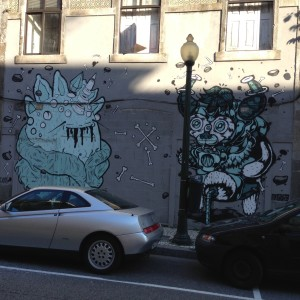 Porto Portugal Street Art - Vegan Nom Noms