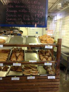 Riga Central Market Russian Pastry Place - Vegan Nom Noms