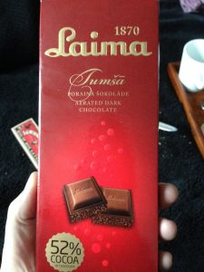 Laima Vegan Aerated Chocolate - Vegan Nom Noms