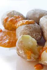 Accidentally vegan Canarian potatoes